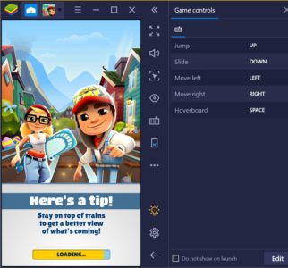subway surfers on Windows 10 PC