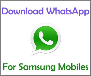whatsapp free download samsung