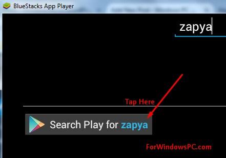 zapya windows 8.1