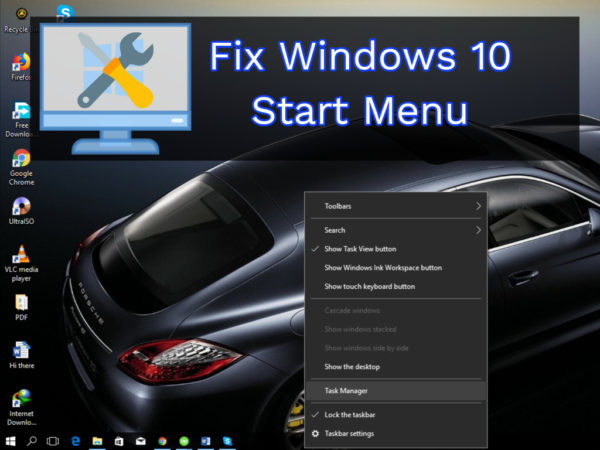 Permalink to How To Fix Start Menu Button On Windows 10 Not Working (solved)