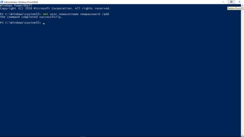 Command Prompt to fix start menu