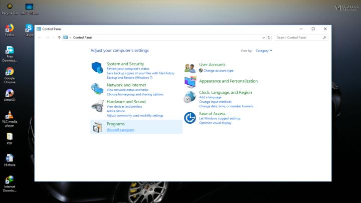 Accessing Start Menu Windows 10 after fixing it