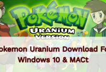 Pokemon Uranium Download For Windows 10 & MAC