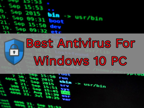 Download Best Free Antivirus For Windows 10 PC