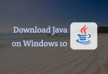 download java for windows 10