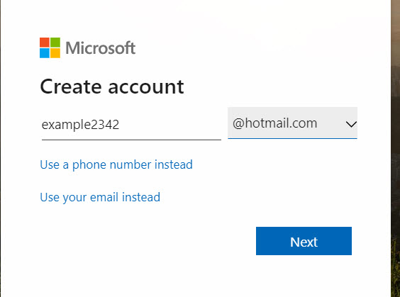 Hotmail com or Outlook com ot Hotmail CO UK