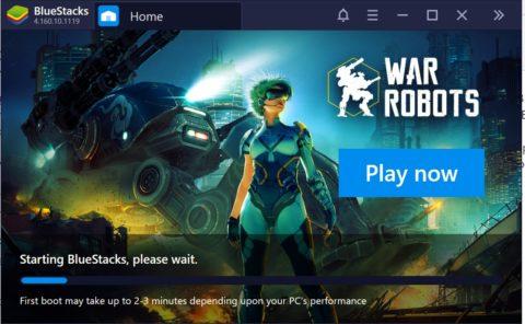 Bluestacks 4 download on Windows 10