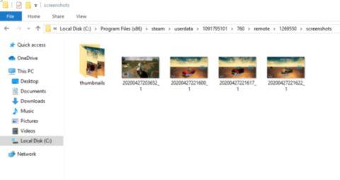 Steam Screenshots Folder Access and Change
